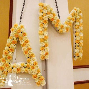 litere-flori